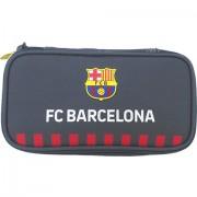 Penar gri F.C Barcelona, cu un compartiment Eurocom