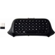 Tastatura chatpad Dobe wireless Bluetooth compatibila cu controllerul pentru XBOX One Negru