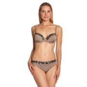 Féraud Bikini, Schalen-BH braun