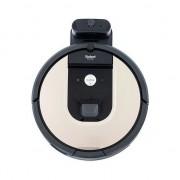 Robot de aspirare Roomba 974, WiFi, putere de aspirare mare, perii duble multi-suprafata, navigatie camere multiple, se reincarca si rei, tehnologie Dirt De