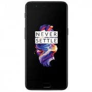 refurbished OnePlus 5 (Midnight Black 8GB RAM + 128GB memory)