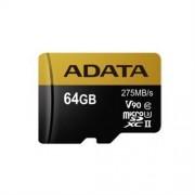 ADATA 64GB microSDHC UHS-II U3 CLASS10 + adaptér