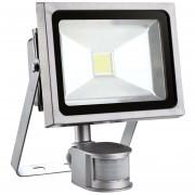 Foco Reflector 30 Watts Con Sensor Movimiento Certificación SEC