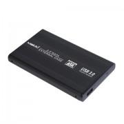 "CASE EXTERNAL for 2.5"" HDD, MAKKI SATA254U3, USB3.0, Aluminium, Black (MAKKI-SATA254U3)"