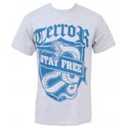 tricou stil metal bărbați Terror - Stay Free - Buckaneer - 1108
