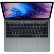 Лаптоп Apple MacBook Pro 13 инча, Touch Bar, QC i5 1.4GHz, 8GB, 512GB SSD, Intel Iris Plus Graphics 645, Сив, MXK52ZE/A