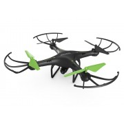 Archos - Drone 4rotores Cuadricóptero 0.3MP 640 x 480Pixeles 350mAh Negro, Verde dron con cámara