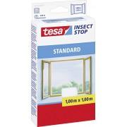 Plasă pentru fereastră contra ţânţarilor tesa ® Standard, 1 m x 1 m, alb