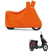 Kaaz Full Orange Two Wheeler Cover For Electric Flash