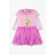 Disney Princess - set met jurk - 2-delig - glanseffect