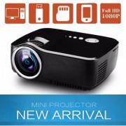Vivibright LED 1080p Projector for Home cinema Mini Portable Projector full HD 3D HDMI VGA USB TV SD LED Projector 800x600 Pixels (SVGA)