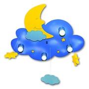 Waldi Lámpara Nube de los sueños 4 bombillas