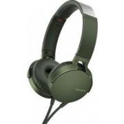 Casti audio Sony MDRXB550APG EXTRA BASS Difuzor neodim 30mm Verde