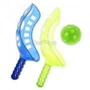 Alcoa Prime Set of Scoop Ball Kids Family Summer Outdoor Sport Game Ball Toss & Catching