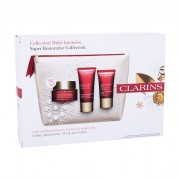 Clarins Super Restorative Collection confezione regalo crema giorno Super Restorative Day 50 ml + crema notte Super Restorative Night 15 ml + crema mani Super Restorative Hand Cream 30 ml + trousse