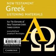 New Testament Greek Listening Materials - For the Elements of New Testament Greek (Duff Jeremy)(CD-Audio) (9780521614733)
