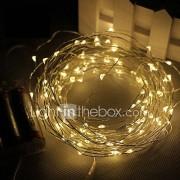 3m 30led 3AA 4.5V batterij aangedreven waterdichte decoratie geleid koperdraad lichten string voor kerst festival huwelijksfeest