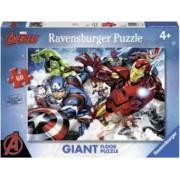 Puzzle RavensBurger Razbunatorii 60 Piese MultiColor