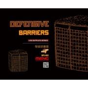 MENG Accesorii diorama Baricade defensive (rasina) 1:35