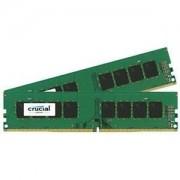 Memorie Crucial 2x8GB DDR4-2400 UDIMM, NON-ECC, CL17,