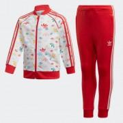 Adidas Спортивный костюм SST adidas Originals Красный 110