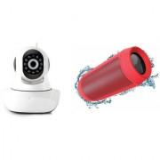 Zemini Wifi CCTV Camera and Charge K3 Bluetooth Speaker for SONY xperia go(Wifi CCTV Camera with night vision |Charge K3 Plus Bluetooth Speaker)