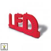 Edimeta Lettre LED assemblable J