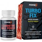 PowGen L-carnitine Max Power [+ Turbo Fix ZDARMA]: odstraní otoky a vyrýsuje svaly
