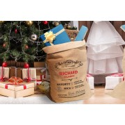 Personalised Hessian Christmas Sack - 5 Designs!
