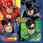 Unique Justice League Party Napkins, 16ct