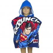 Marvel Superman zwembadponcho met blauwe capuchon