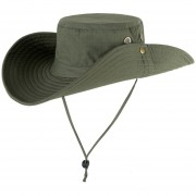 Recién camuflaje cubos vaquero Casual viaje al aire libre pesca senderismo Snapback gorra plana m99 Sombrero LANG(#Solid Army Verde)