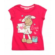 Tricou Nici roz inchis 7125