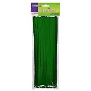 Creativity Street Chenille Stems/Pipe Cleaners 12 Inch x 6mm 100-Piece Green
