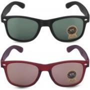 Lopo Wayfarer, Retro Square, Rectangular Sunglasses(Green, Brown)