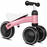 Tricicleta fara pedale Mini Kazam Kzmmini, 3 roti, 12 luni+, Roz