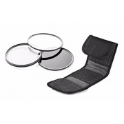 Digital Nc Sony Alpha a5100 High Grade Multi-Coated, Multi-Threaded, 3 Piece Lens Filter Kit (67mm) Made by Optics + NW Direct Microfiber Cleaning Cloth.