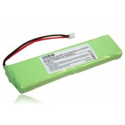 vhbw Ni-MH Batterie 500mAh (2.4V) pour Grundig Frame A, Frame FR, AEG F20, Idect X3 remplace 2SN-3/5F60H-H-JZ1