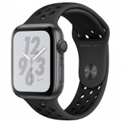 Apple Watch Nike+ Series 4 GPS 44mm Alumínio Cinzento Sideral com Bracelete Desportiva Nike Antracite/Preto