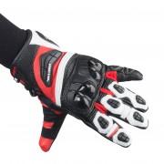 Richa Handschuhe Richa Stealth Schwarz-Weiß-Rot