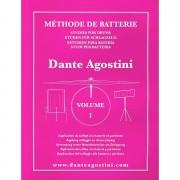 Agostini Methode de Batterie Vol.1 - Solfege Batterie Lehrbuch