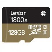 Lexar Professional 1800x microSDXC 128 GB Kit - LSDMI128GCRBEU1800R