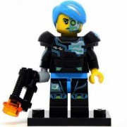 Идентифицирана минифигурка Лего Серия 16 - Киборг - Lego series 16 - Cyborg, 71013-3