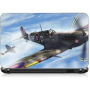 VI Collections ANIMATED WAR PLANES pvc Laptop Decal 15.6