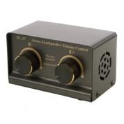 Stereo luidspreker volume regelaar