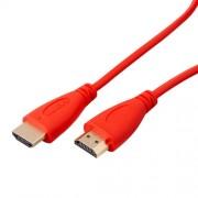 Cavo HDMI 1.4V 1080P 4K 3D ARC 1 Metro Rosso