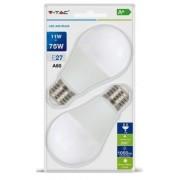 V-TAC 11W 1055lm 4000K LED-izzó 2db/csomag