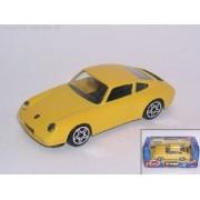 """Bburago 1/43 Street Fire (3.5"""") Porsche 911 Carrera - Yellow"""