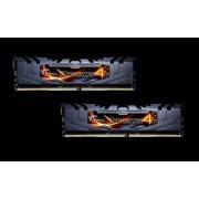 DDR4 8GB (2x4GB), DDR4 3200, CL16, DIMM 288-pin, G.Skill Ripjaws 4 F4-3200C16D-8GRK, 36mj