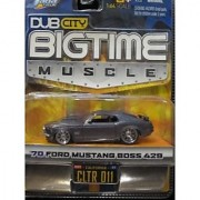 70 Ford Mustang Boss 429 (metallic gray) Dub City Bigtime Muscle By Jada